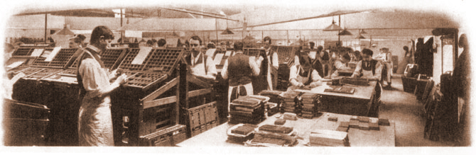 Whitefriars Press Typesetters