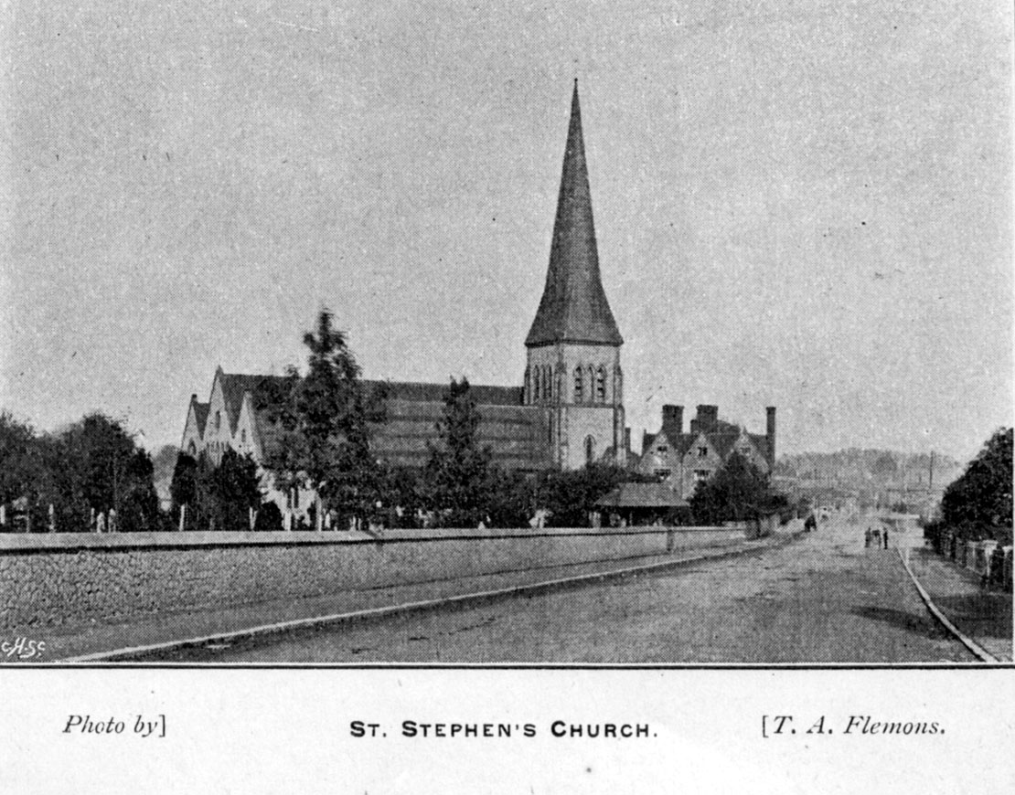 St Stephens Church in 1896