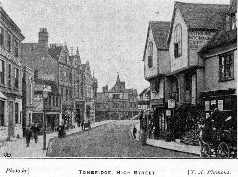 Tonbridge High Street 1896