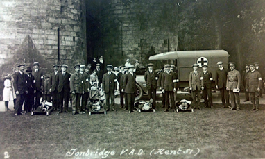 VAD personnel at Tonbridge Castl